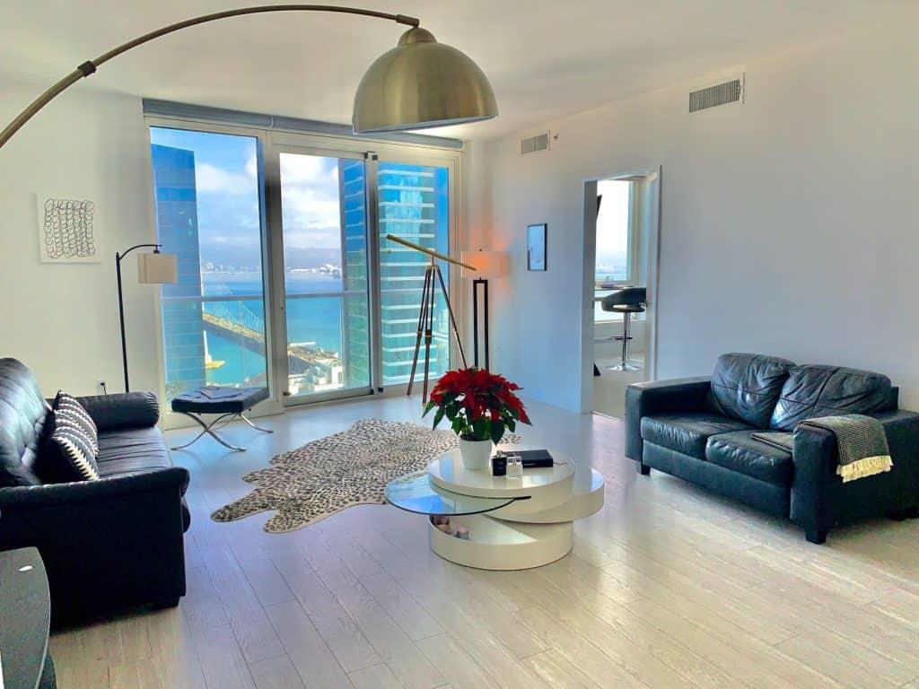 Luxury penthouse with Bay Bridge view sf san francisco rental
