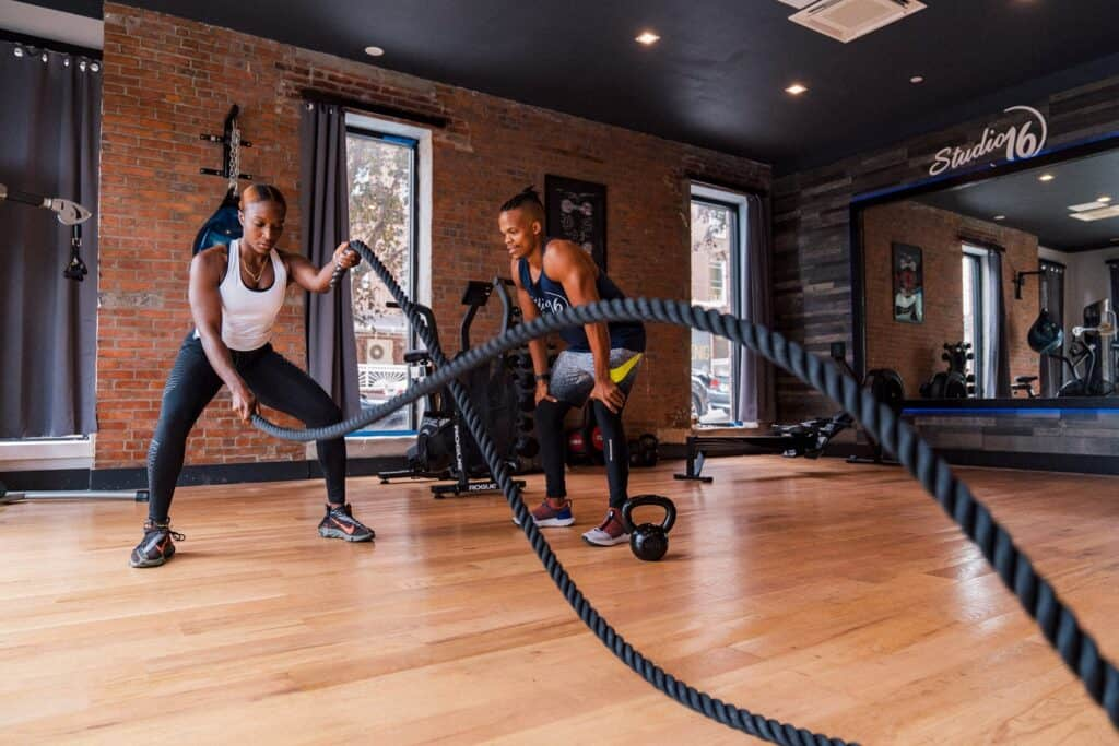Luxury private gym nyc new york city rental Rent Fitness Space by The Hour