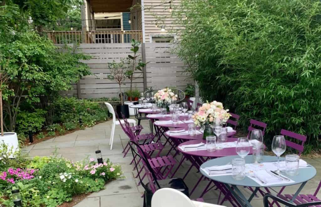 Modern Event Space with Private Garden boston rental