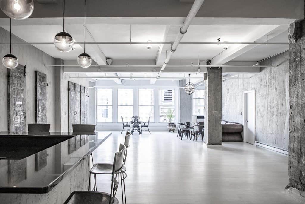 Modern Industrial Manhattan new york city nyc rental
