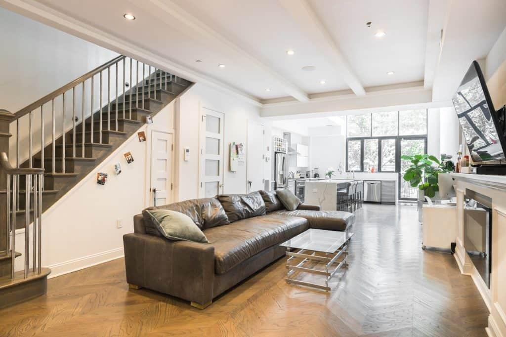 Modern & Spacious Multi-Purpose Brooklyn Townhouse new york city nyc rental