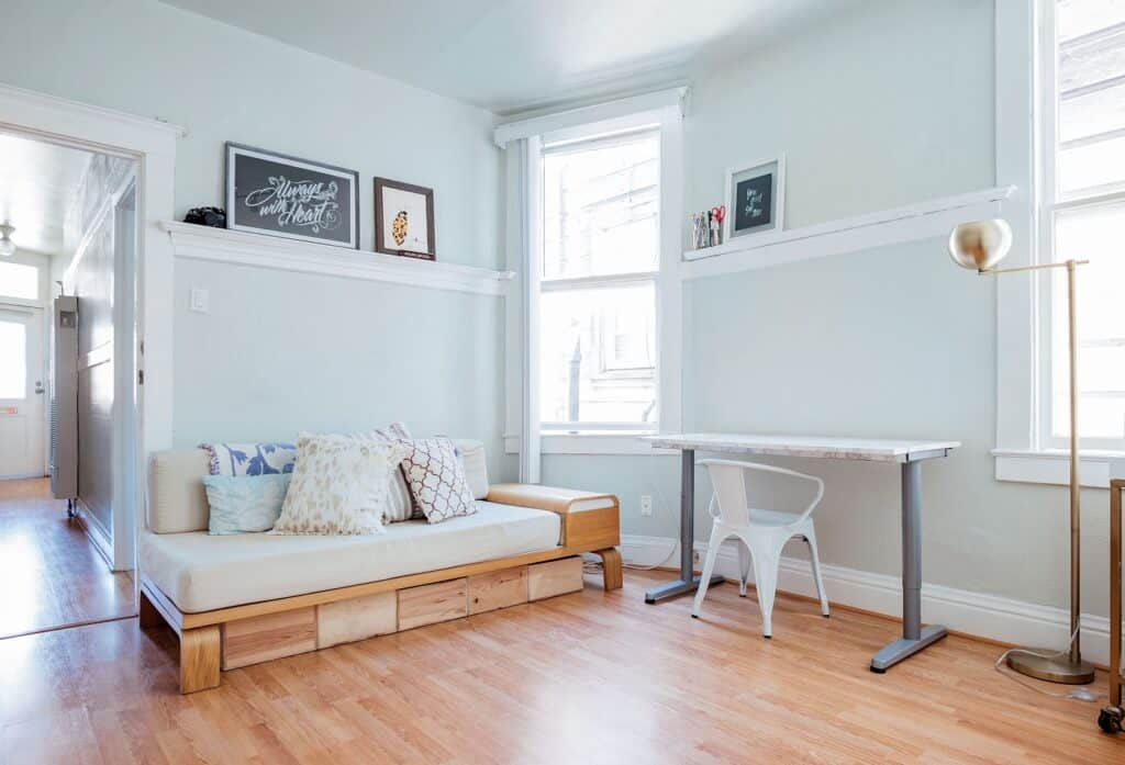 Natural Light Lifestyle Studio in the Mission san francisco rental