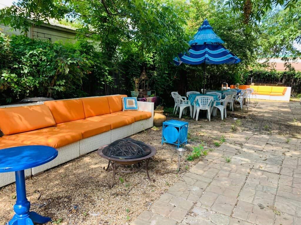 Outdoor Garden Patio dallas rental