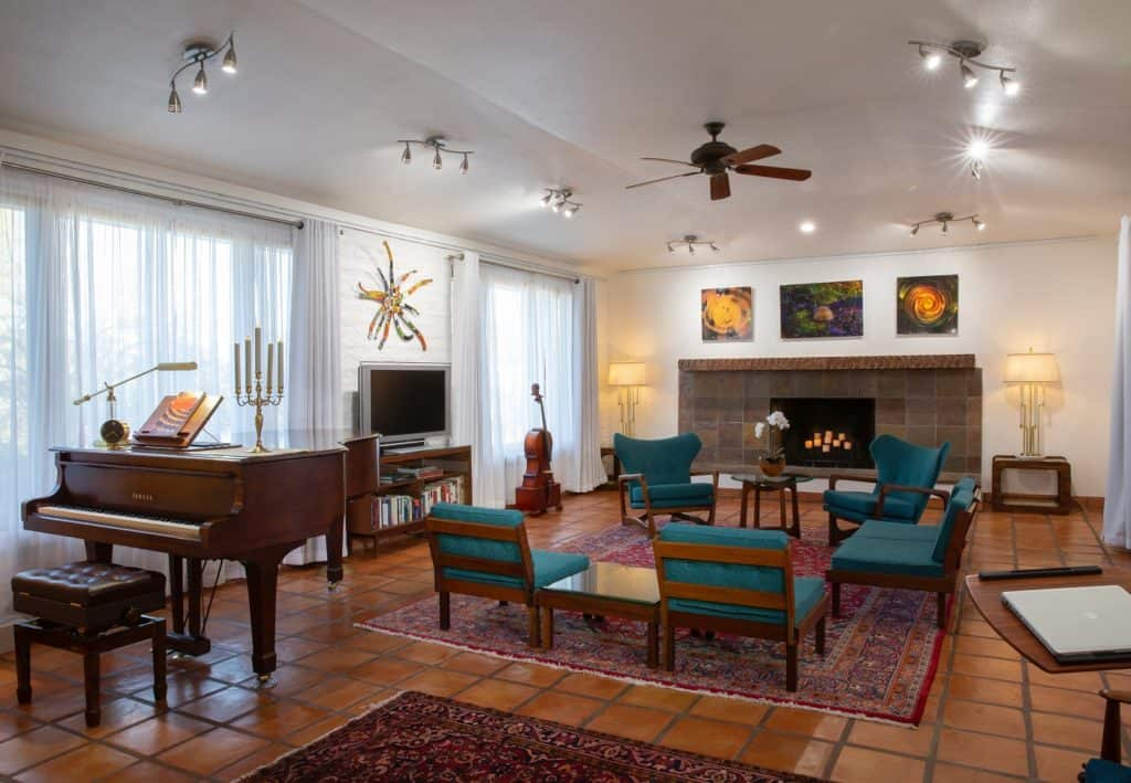 Phoenix Mountain Preserve Home with Yamaha 6'1 C3 Piano phoenix rental