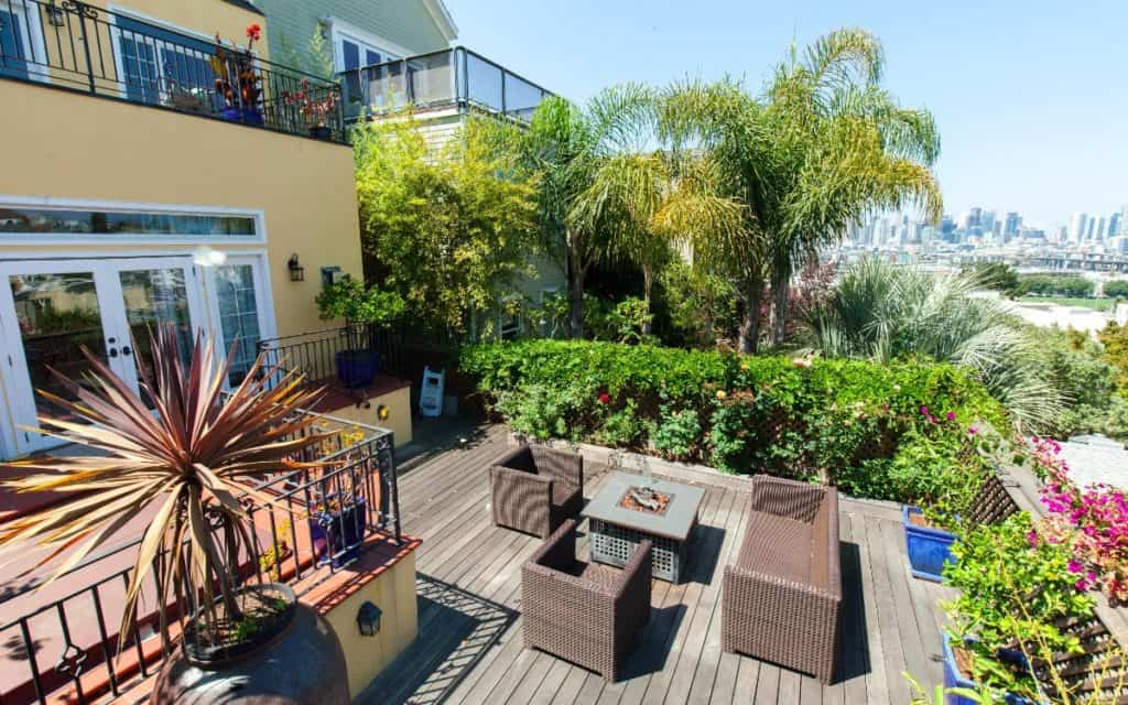 Potrero Hill View with Inside and Outside Space sf san francisco rental
