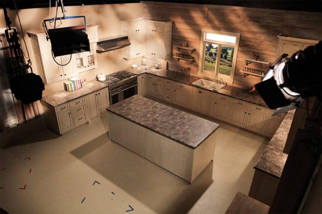 Professional Martha Stewart Inspired Kitchen nashville rental
