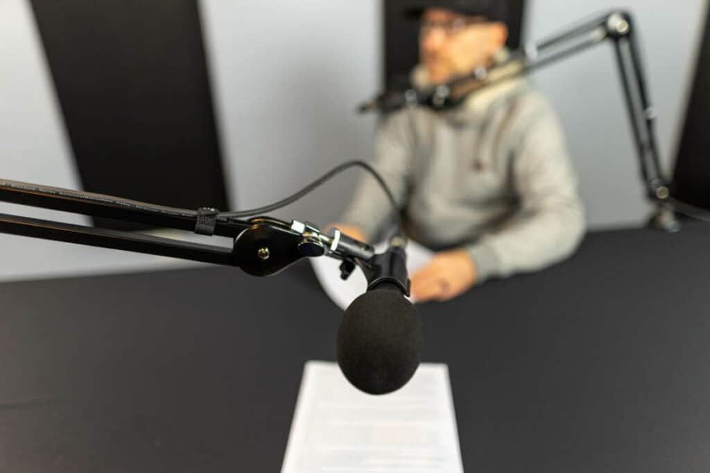 Professional Podcast Studio with Pro Equipment vancouver rental