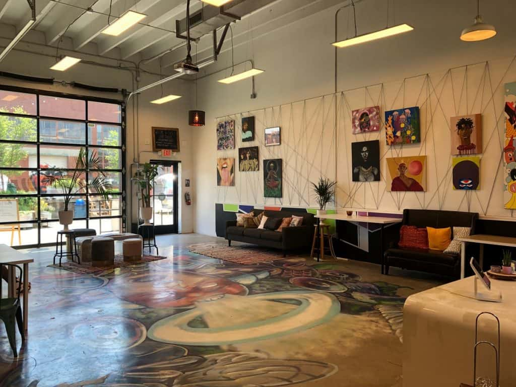 Quirky, Colorful, Creative Studio Minutes from Uptown charlotte
