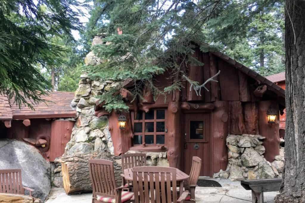 Real Log Cabin Built in 1915 - Rustic Cozy rental twin peaks california