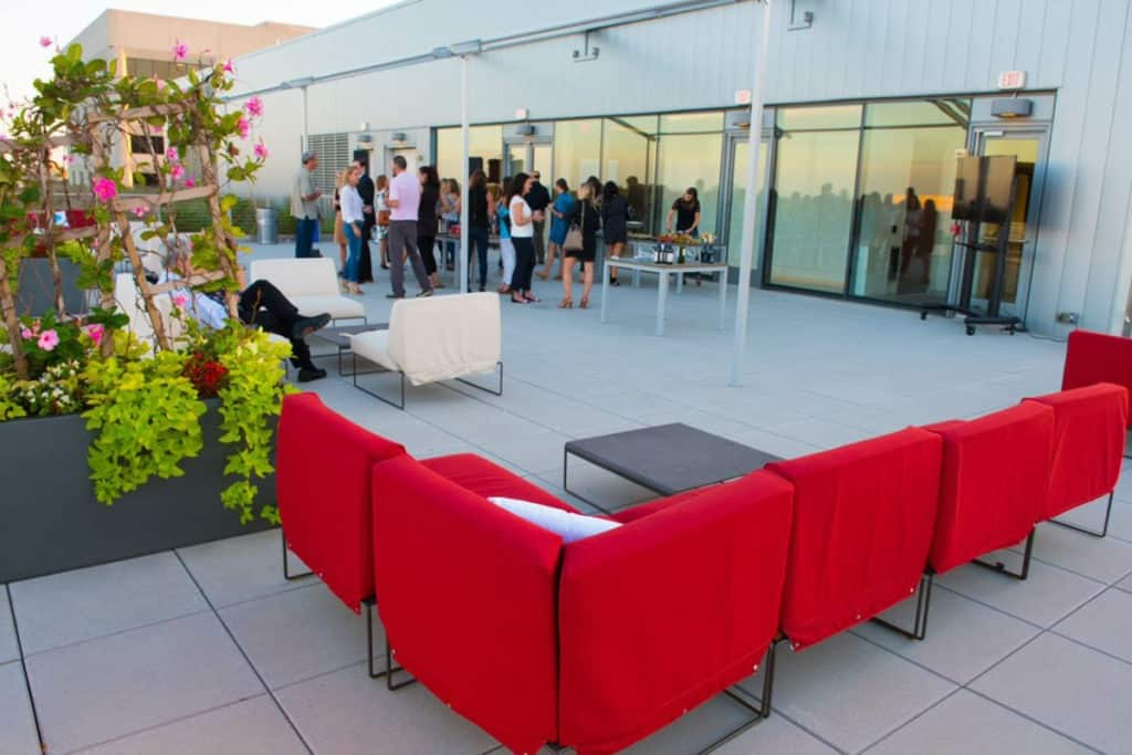 Rooftop Event Space in Downtown Bethesda d.c. washington dc rental