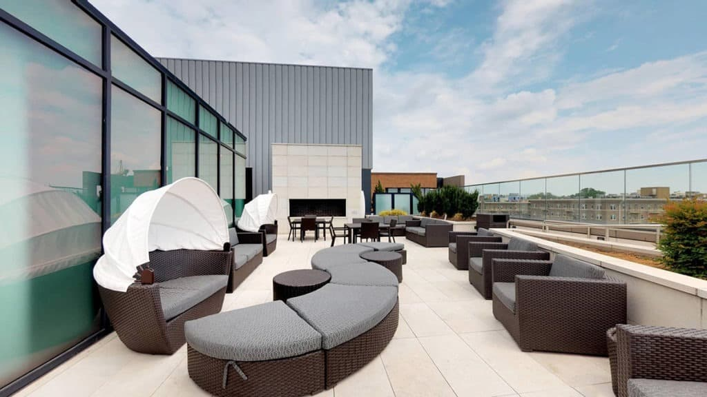 Rooftop Lounge and Dinning Room d.c. washington dc rental