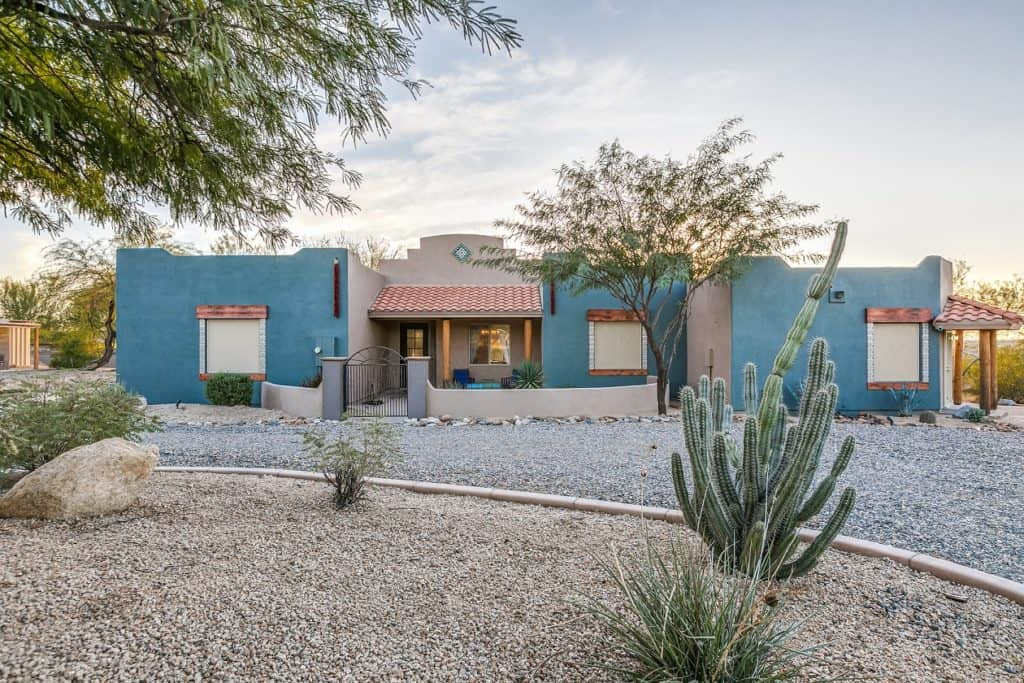 Secluded Desert Oasis for Film production phoenix rental
