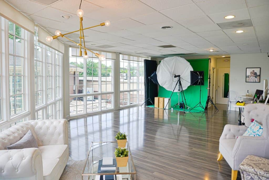 Second Floor Boutique with a Wall of Windows charlotte rental
