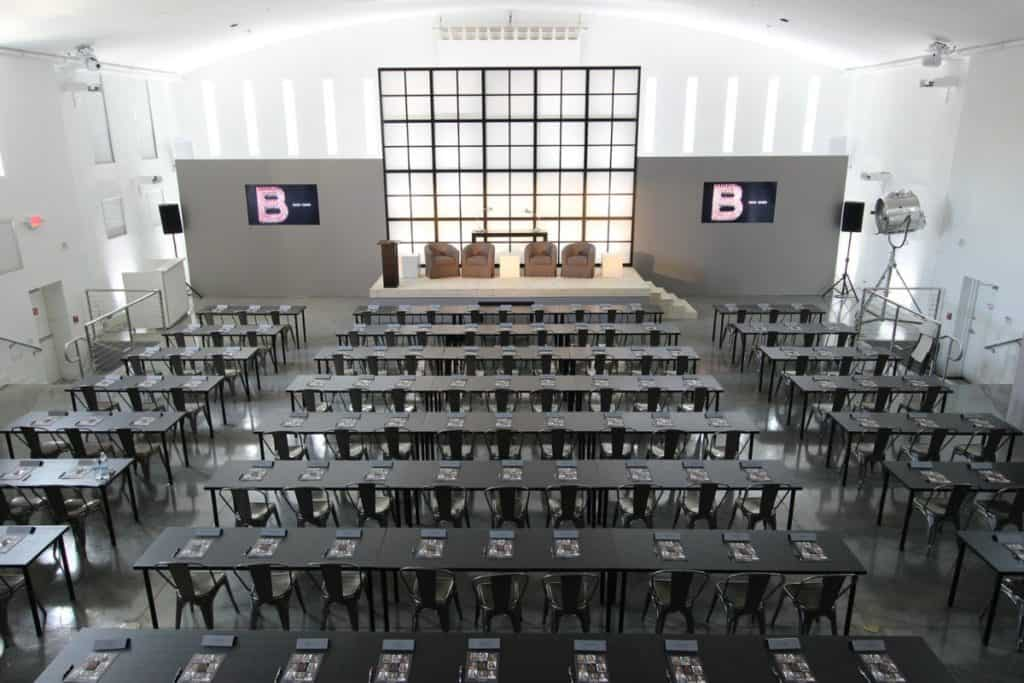 Spacious and Versatile Conference Venue with Projection Mapping miami rental