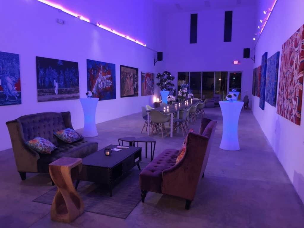 Spectacular Event Lounge miami rental