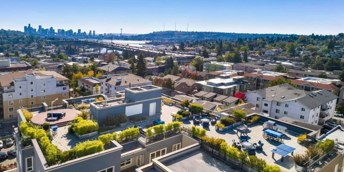 Stunning Rooftop Deck and Event Space seattle rental