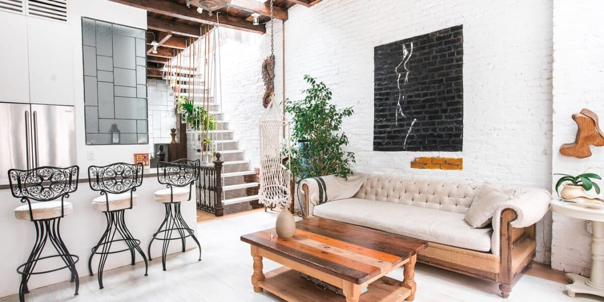 Sun Soaked, Hand Crafted Penthouse in Center of S Williamsburg new york rental