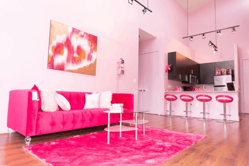 The Pink Babe Cave in Atlanta rental