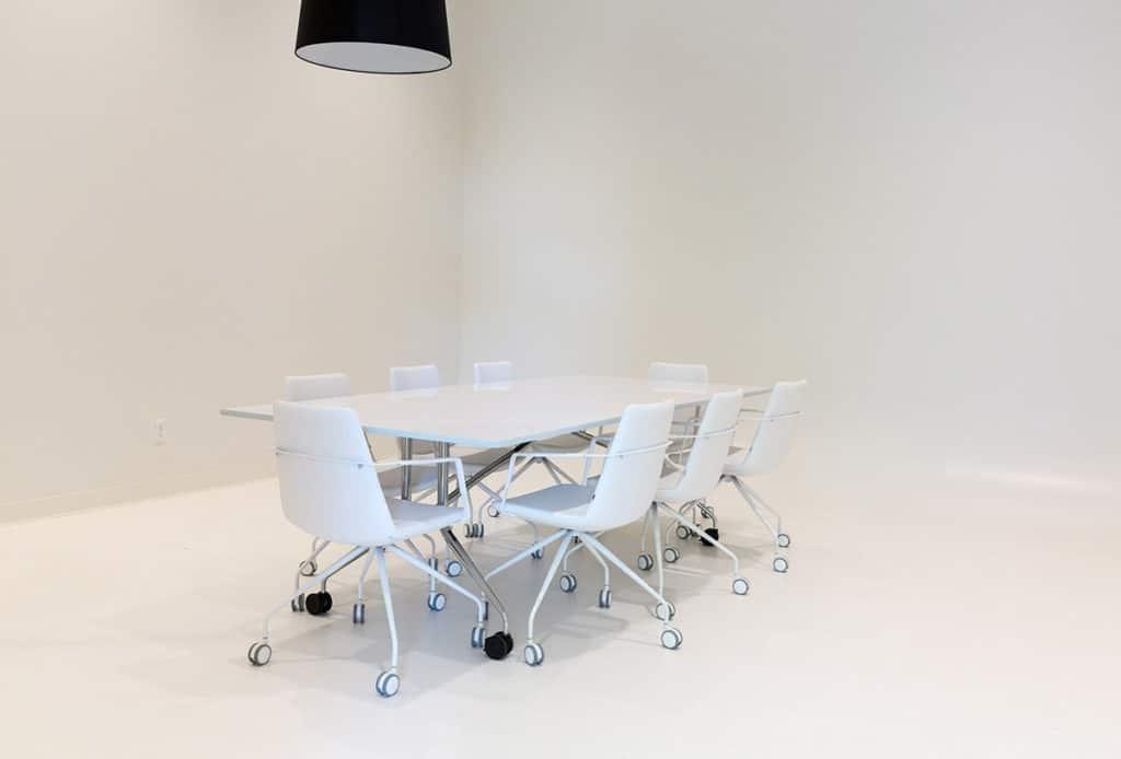Unique All-White Photo Studio portland rental