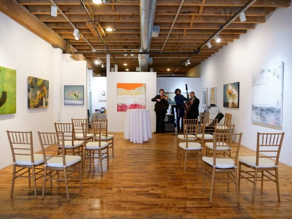 Unique & Intimate Art Gallery in SoWa boston rental