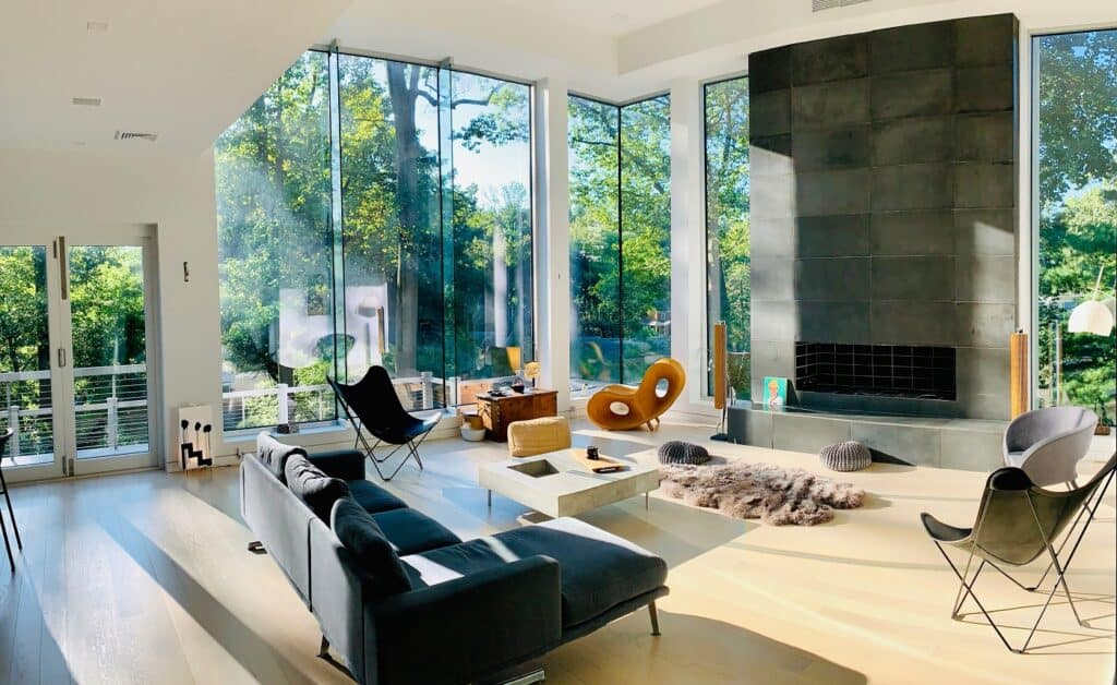 Unique Modern Mansion with beautiful decor and big spaces montclair new jersey rental