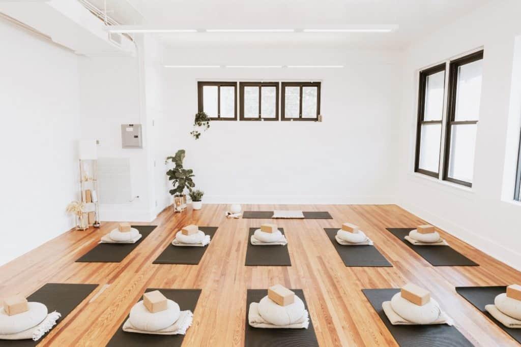 Warm modern wellness space tampa rental