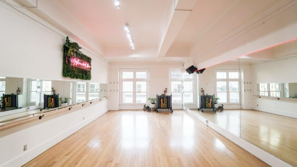 how much does a yoga studio cost