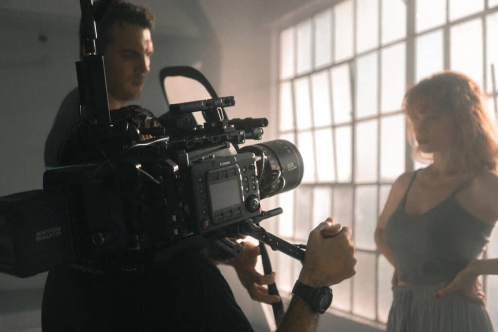 shooting video with an anamorphic lens