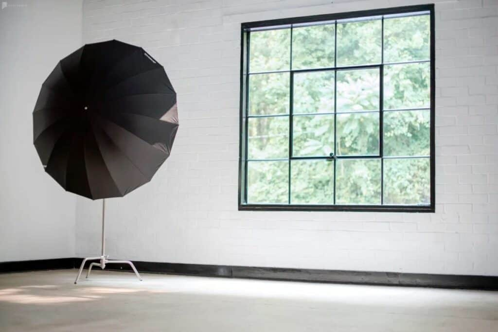 bright blank canvas studio