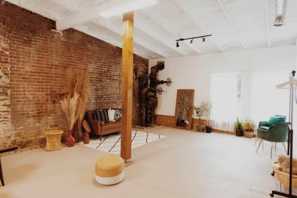 elegant and eclectic midtown studio