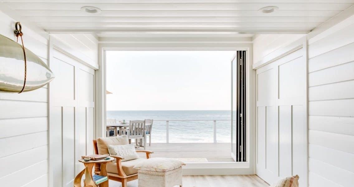 a beach house