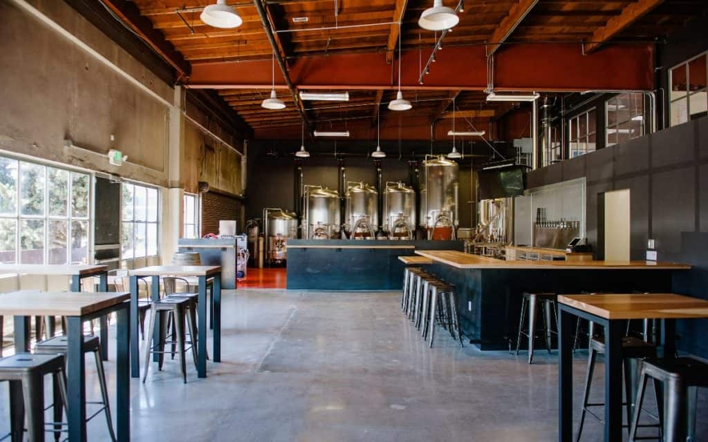 brewery industrial-chic warehouse sf san francisco rental