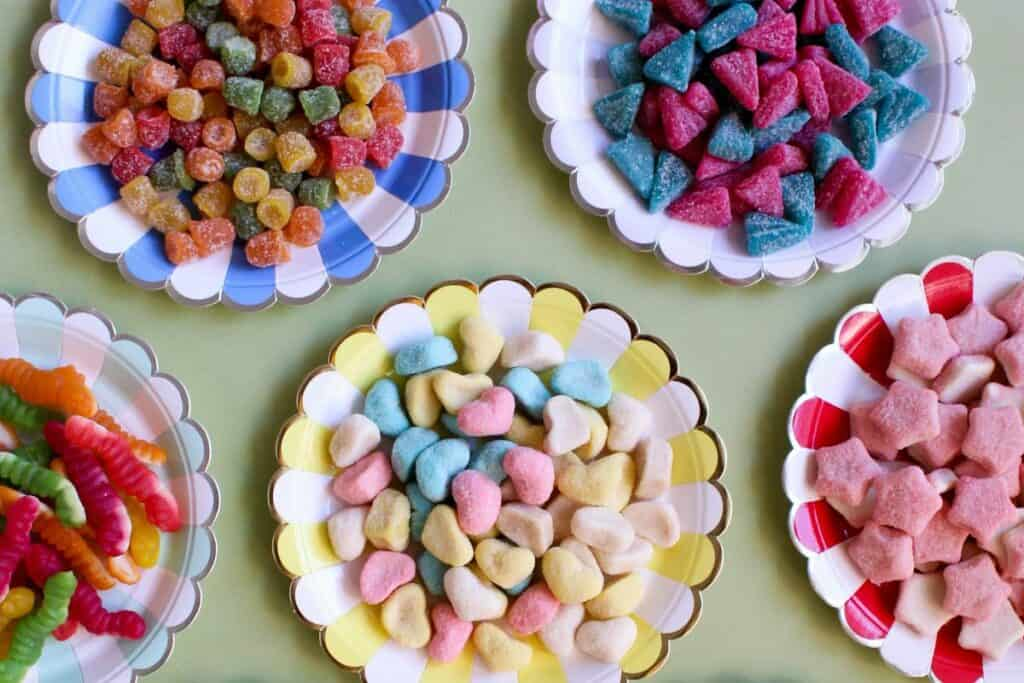 candy buffet table christmas buffet ideas