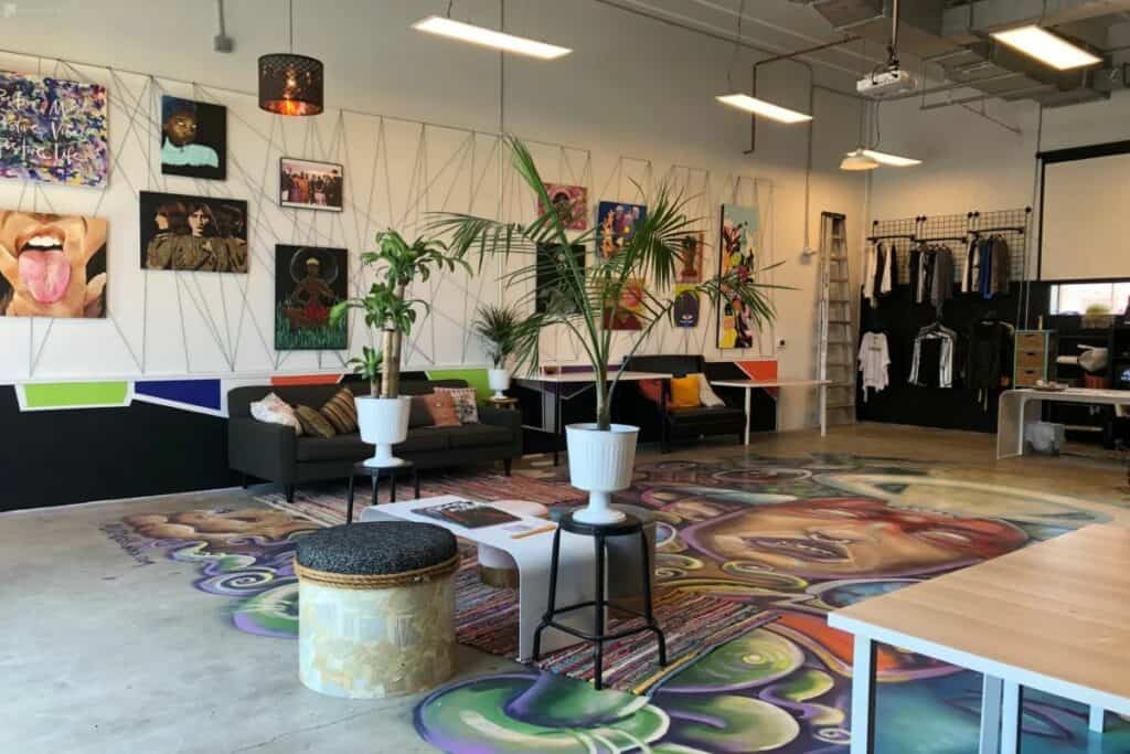 quirky creative space