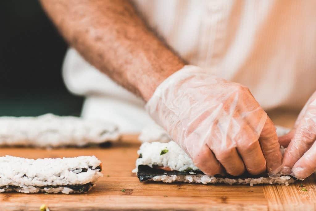sushi making team outing idea