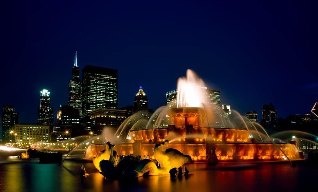 buckingham fountain chicago