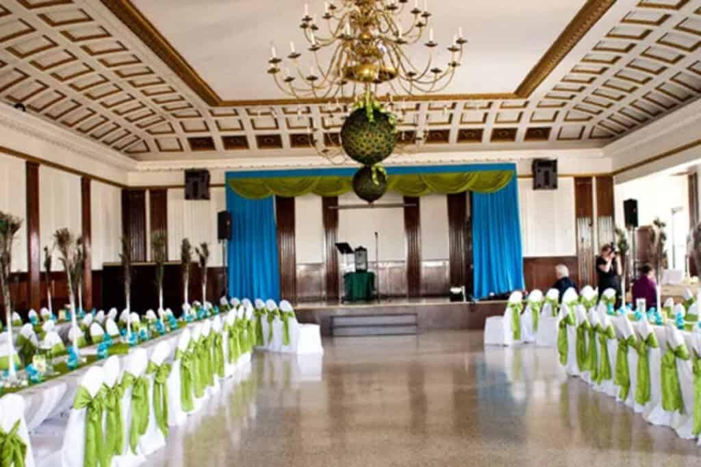 historic ballroom in chicago's lincoln square