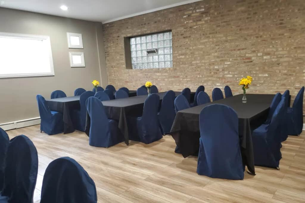 classic versatile party and meeting space