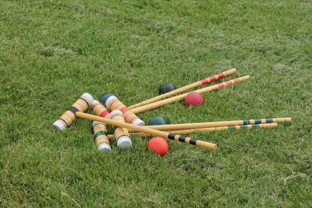 croquet lawn games outdoor birthday party