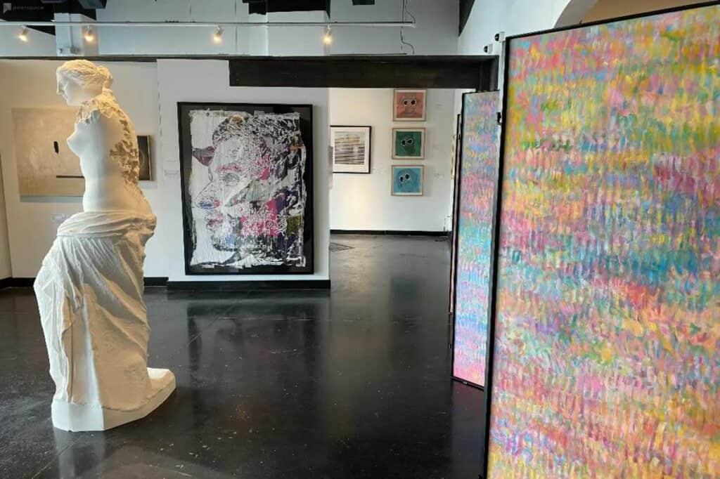 dallas modern contempo art gallery venue
