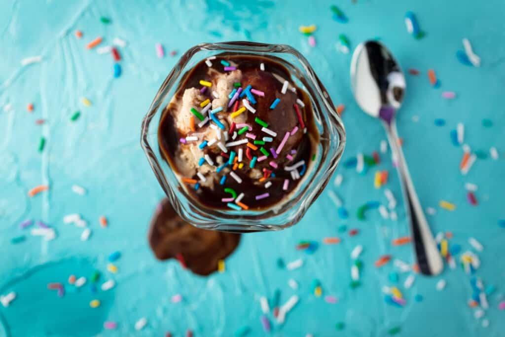 sundae ice cream dessert birthday