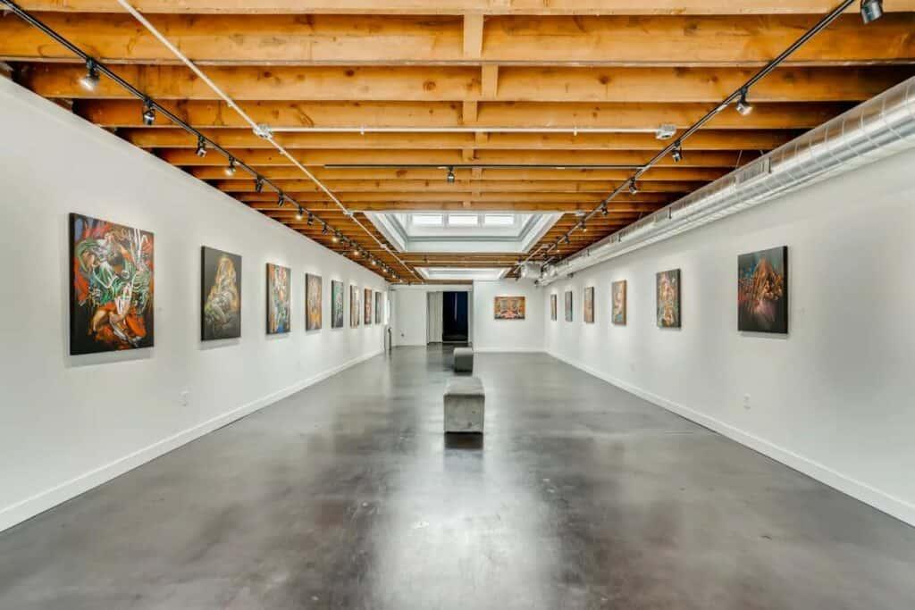 industrial gallery space in denver
