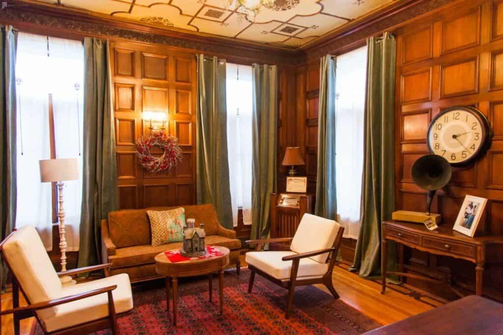 elegant historic mansion