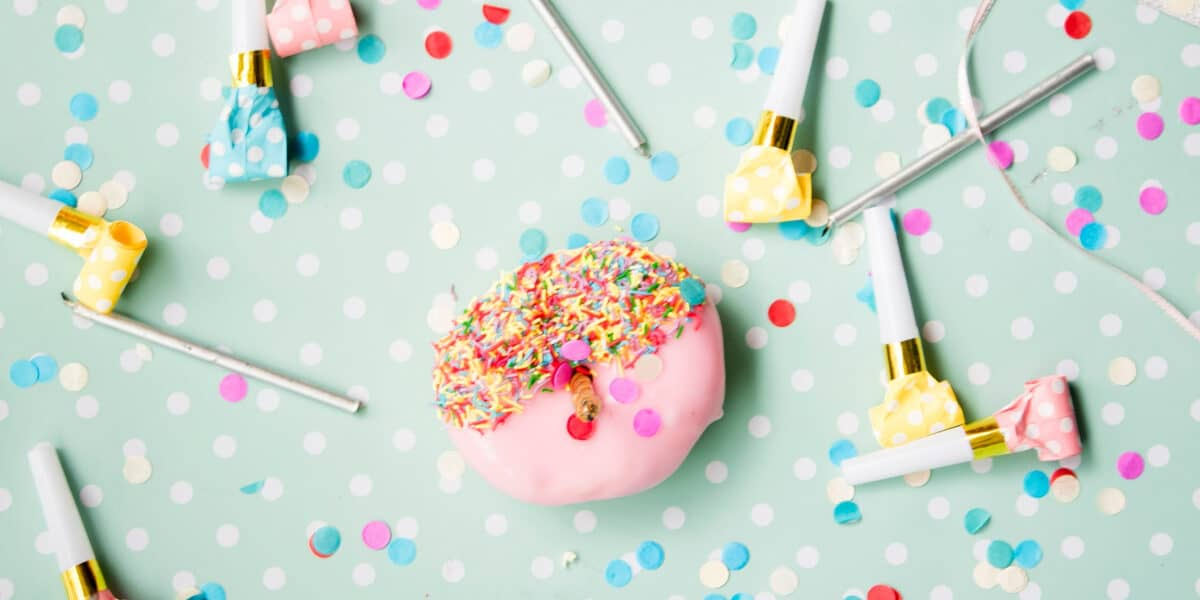 donut party decor and favors