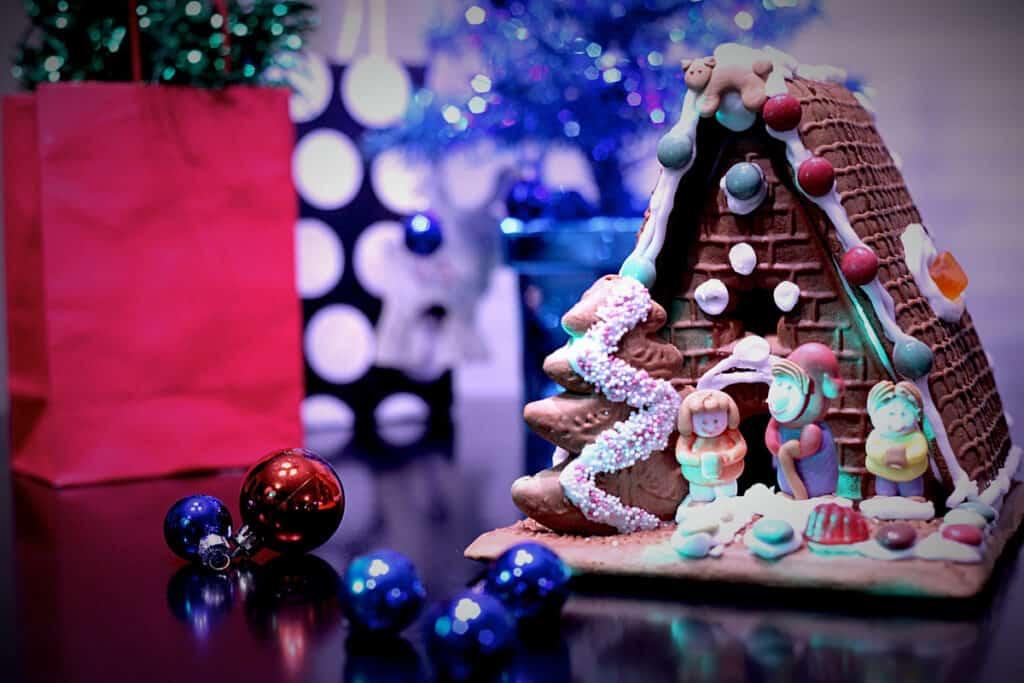 christmas brunch ideas gingerbread house