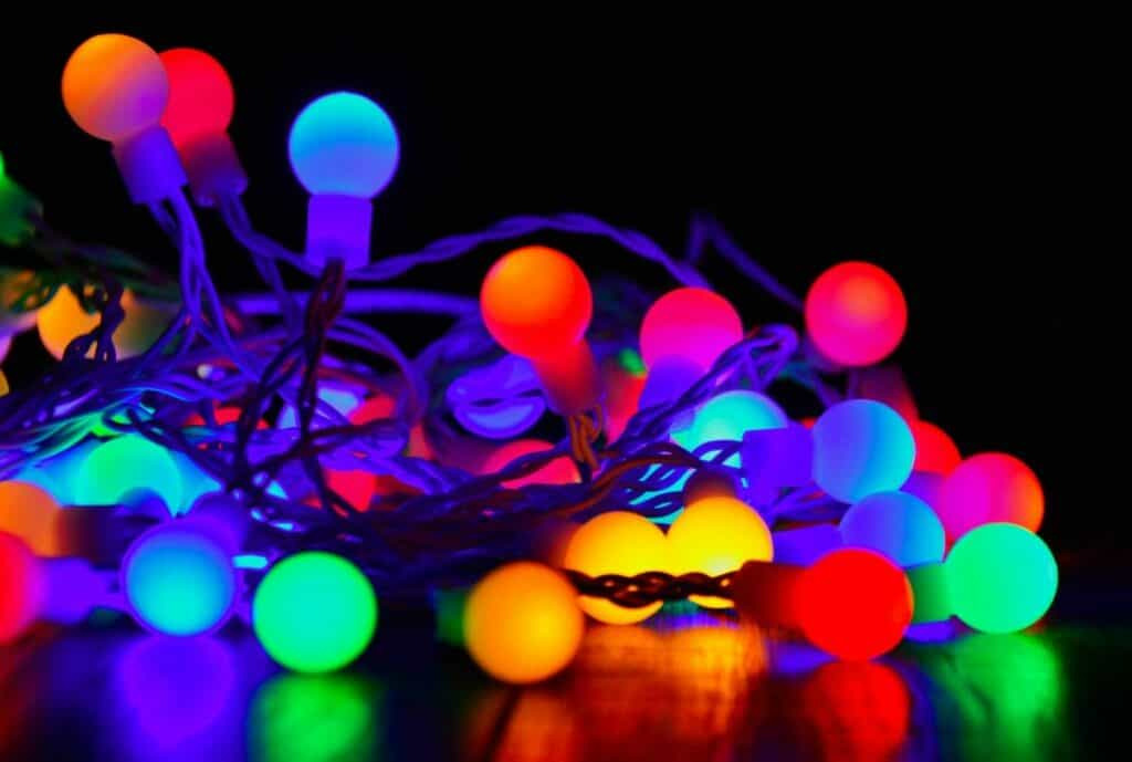 glow in the dark party lights