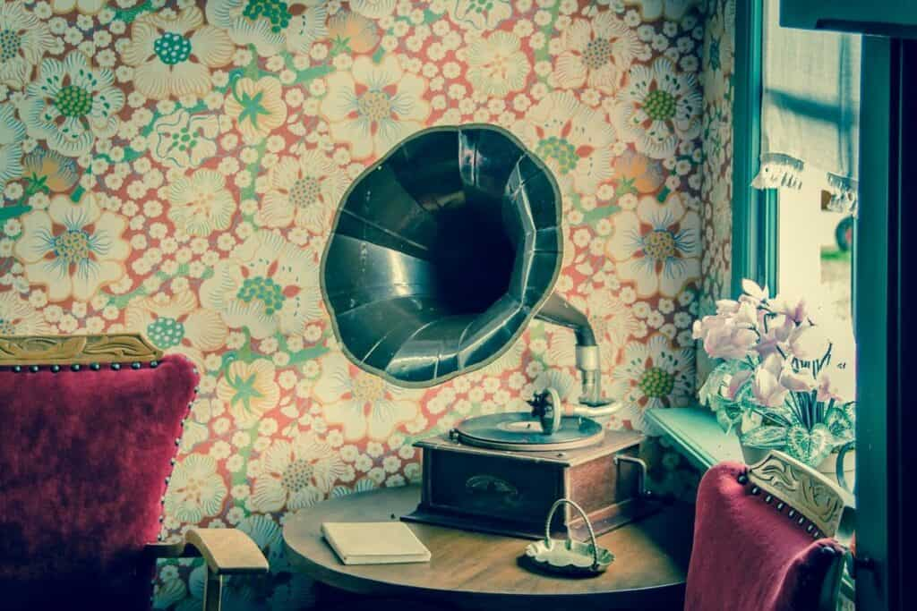 gramophone 50s comedy and music records