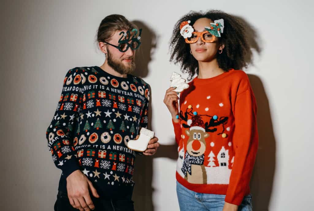 ugly sweater party ideas feashion