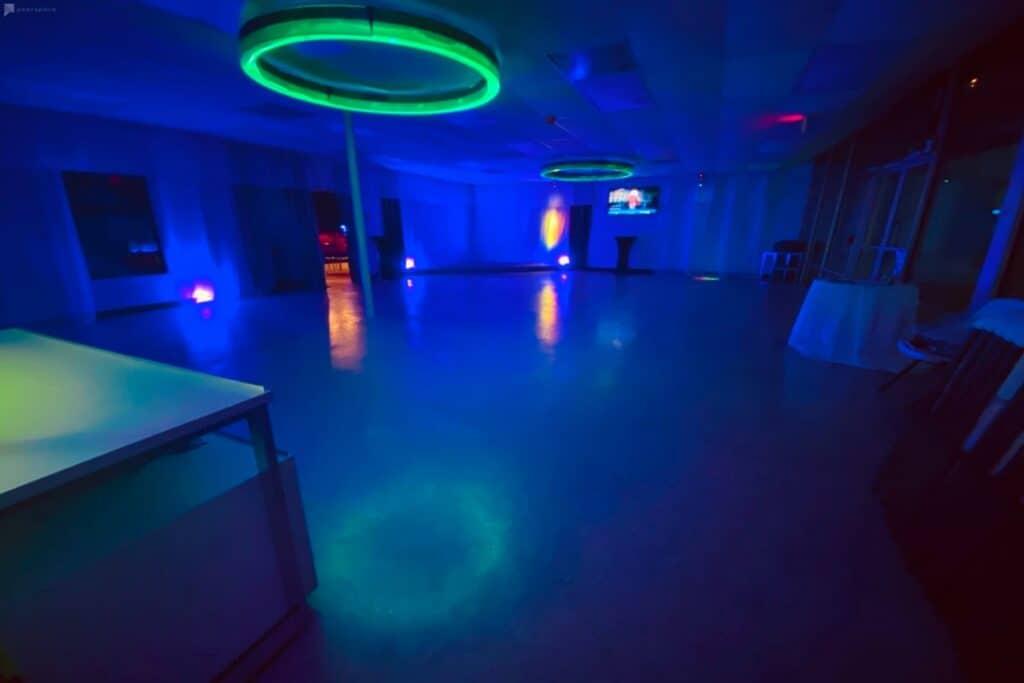 spacious and versatile party venue