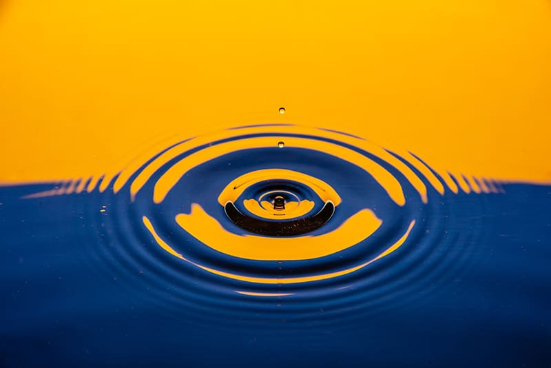 oil and water photography
